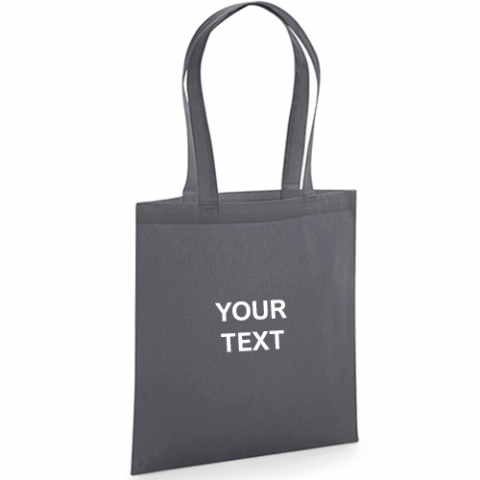 Personalised Organic Premium Cotton Tote Bag